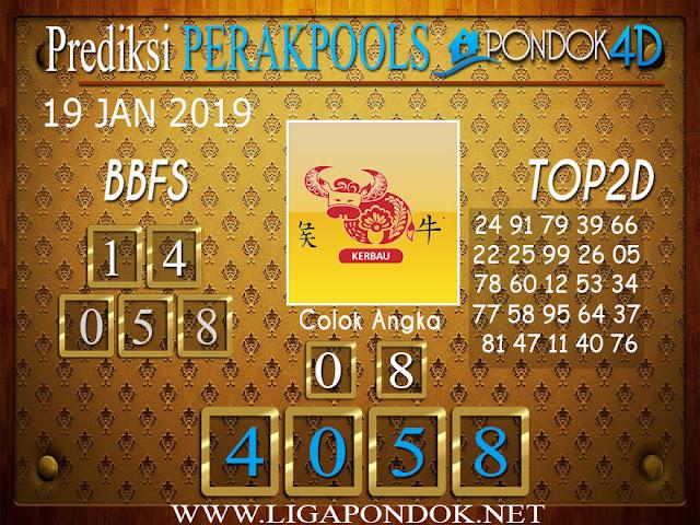 Prediksi Togel PERAK PONDOK4D 19 JANUARI 2019