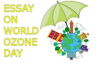 Essay On World Ozone Day