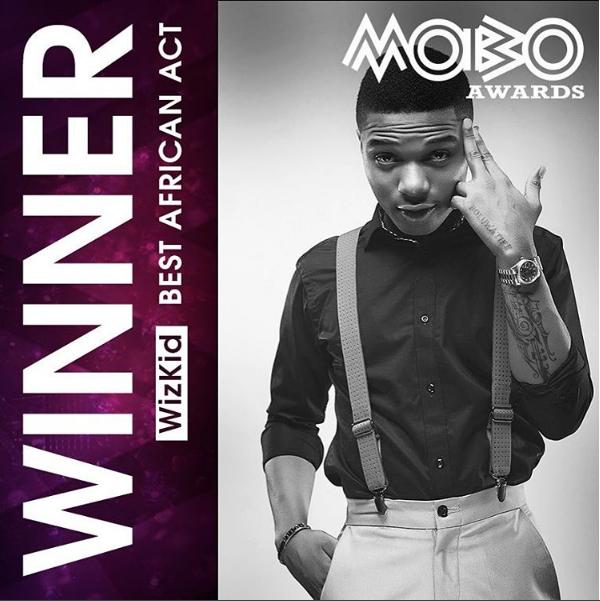 Full List of Winners At MOBO Awards 2016