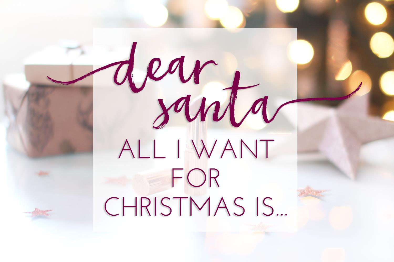 melissa-lou: Dear Santa: All I want for Christmas is...