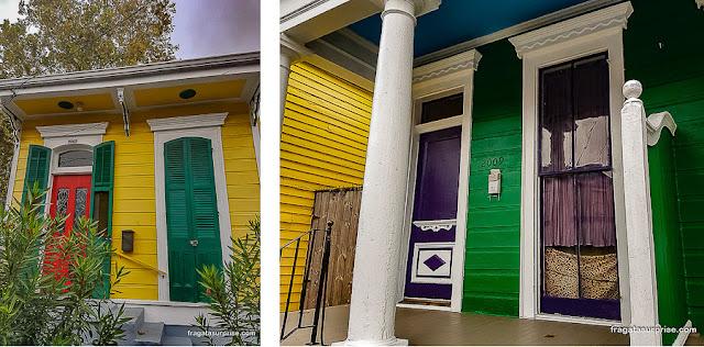 Casas em estilo creole, Nova Orleans