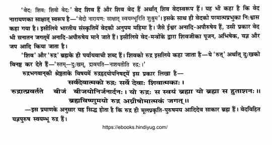 Rudrashtadhyayi Hindi PDF Download Free