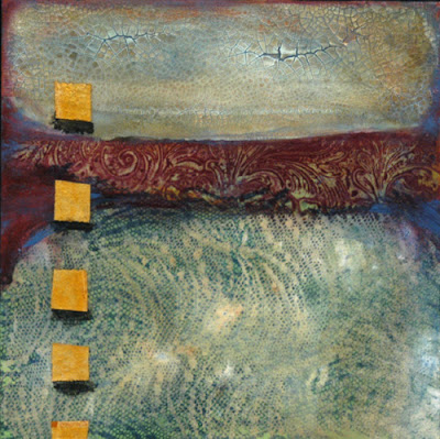 mixed media painting by Sandra Duran Wilson