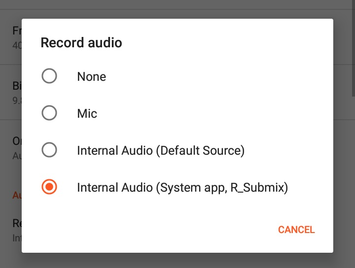 How to Record the Screen with Internal Audio on Android