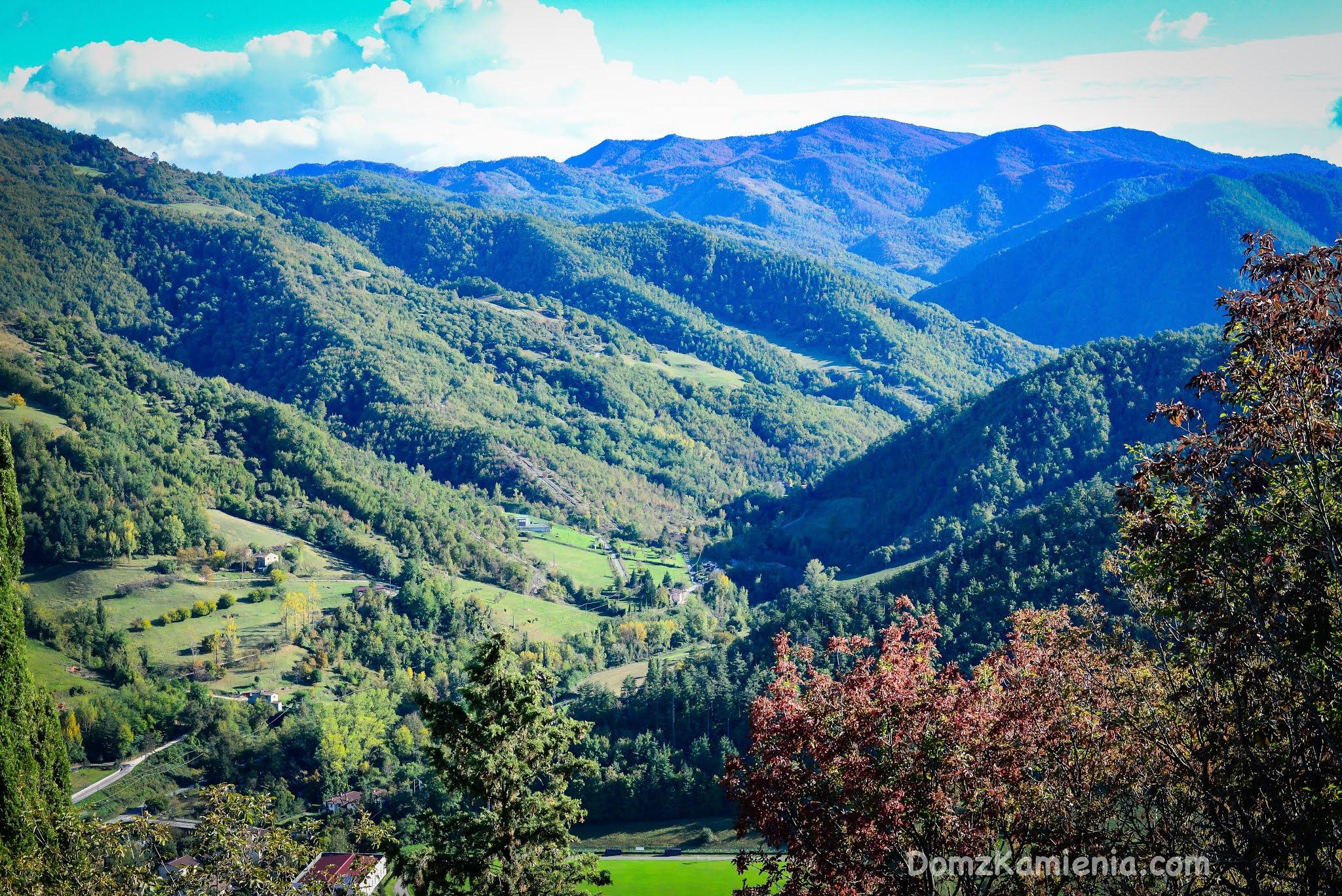 Marradi - Toscana, valle del Lamone