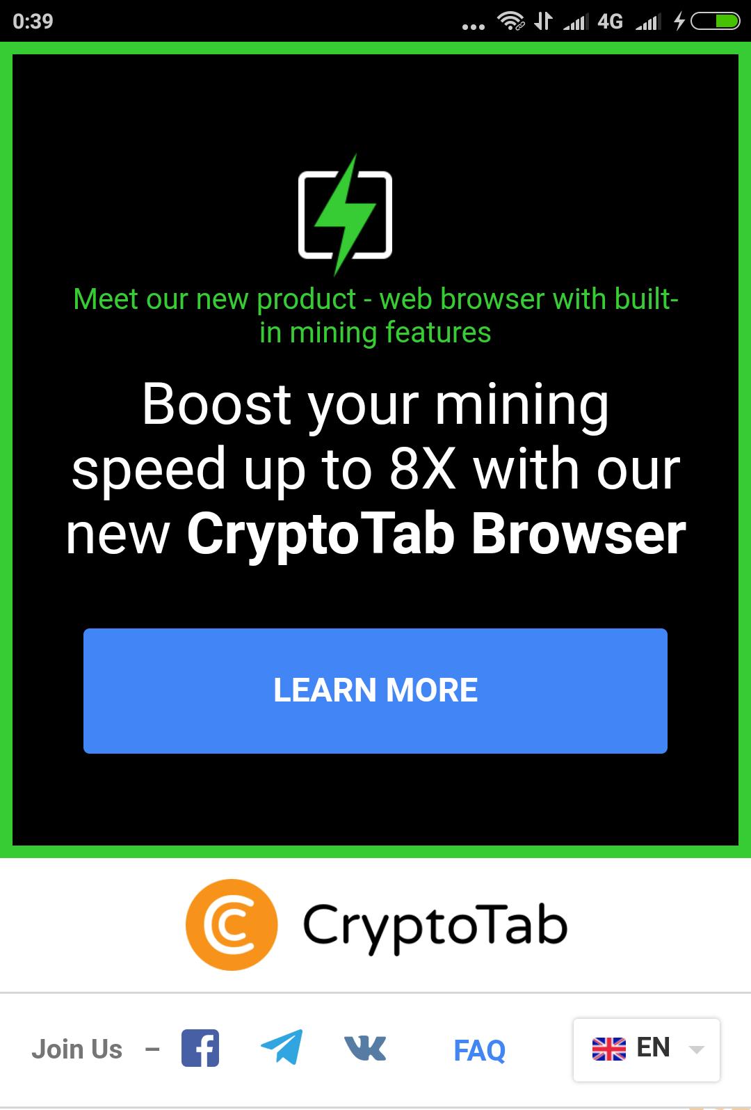 TERBARU !!! Software CryptoTab Browser Untuk Mining Bitcoin