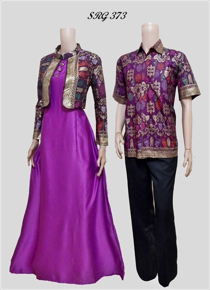 Baju Batik Couple Remaja 2016 Srg 373