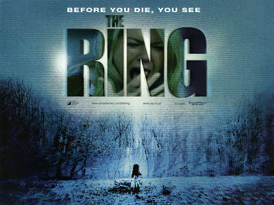 Poster film horor The Ring (2002)
