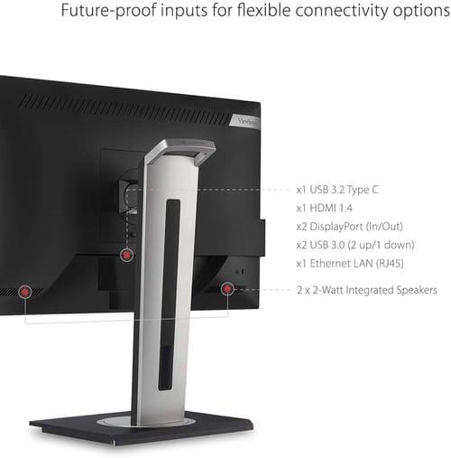 ViewSonic VG2756-2K 27 Inch IPS 1440p Monitor