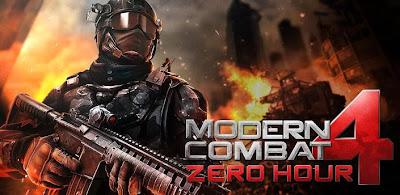 Modern Combat 4: Zero Hour é lançado oficialmente para Android 1