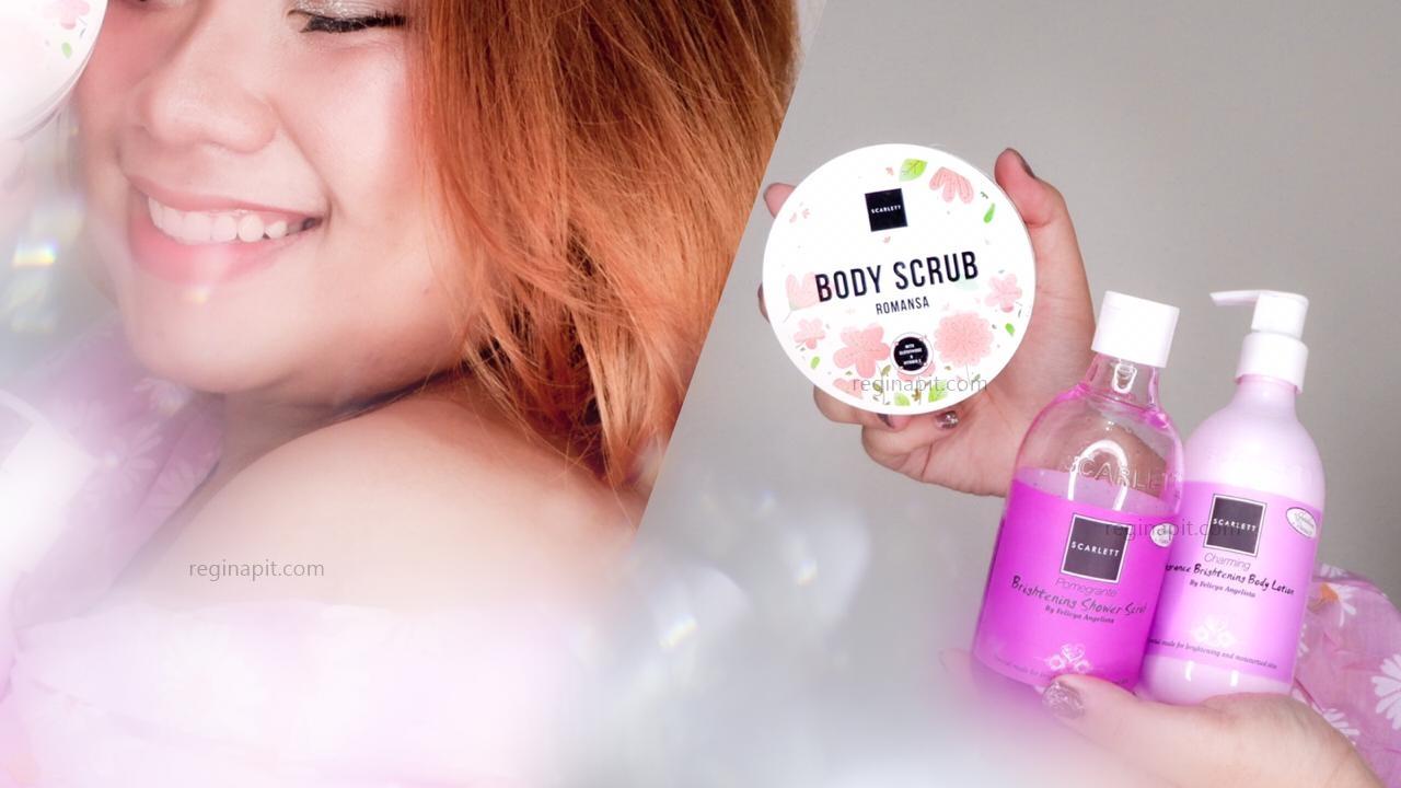 Body Care Untuk Mencerahkan Kulit Dengan Scarlett Whitening Reginapit