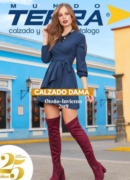Catalogo de damas calzado MundoTerra Otoño invierno 2019