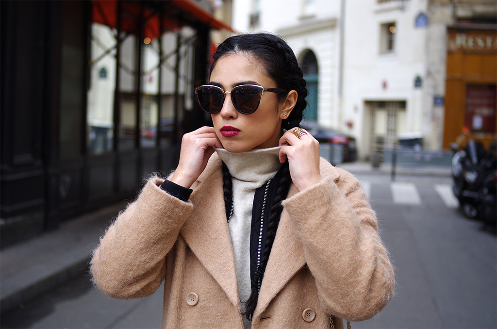 Elizabeth l layering outfit l Stradivarius bomber jacket Asos Zara l THEDEETSONE l http://thedeetsone.blogspot.fr