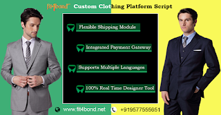 Complete online tailoring store software for custom