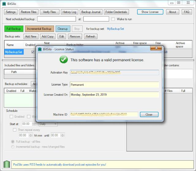Screenshot MollieSoft BitSilo 1.2.9.0 Full Version