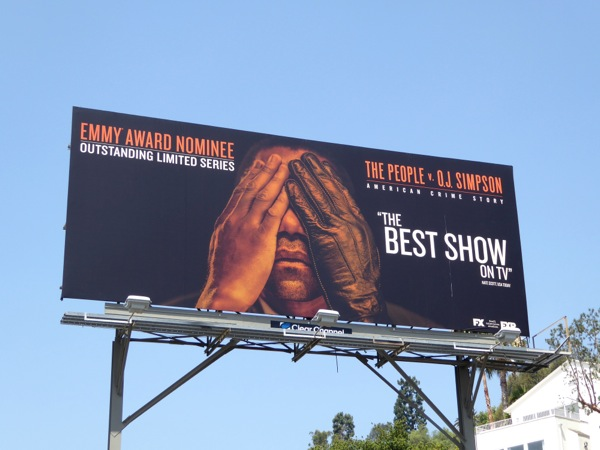 People v OJ Simpson Emmy Award Nominee billboard