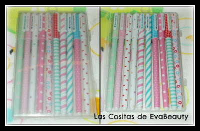 pack boligrafos gel papeleria kawaii amazon barata