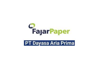Lowongan Kerja SMK PT Dayasa Aria Prima (Pabrik Kertas) Juni 2020