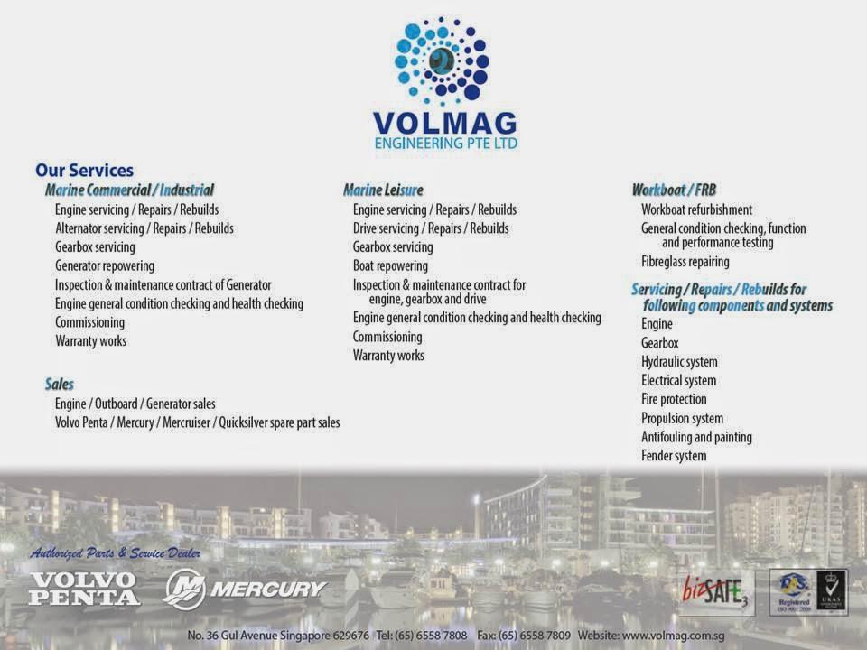 Mercury Marine Singapore Authorised Dealer (Singapore Asia): VOLMAG
