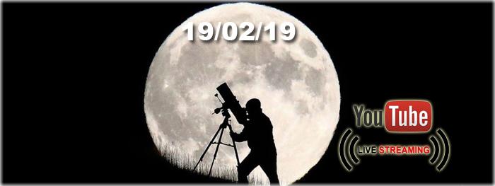 Maior Lua cheia do ano - super lua 19 de fevereiro de 2019