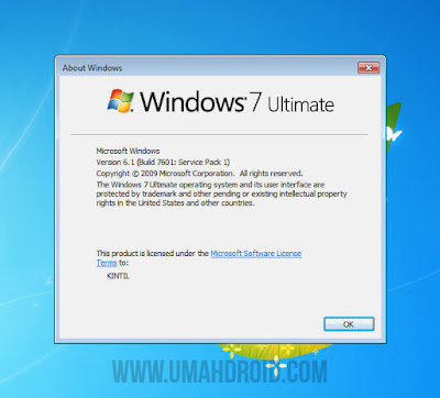 Windows 7 Build 7601: Service Pack 1