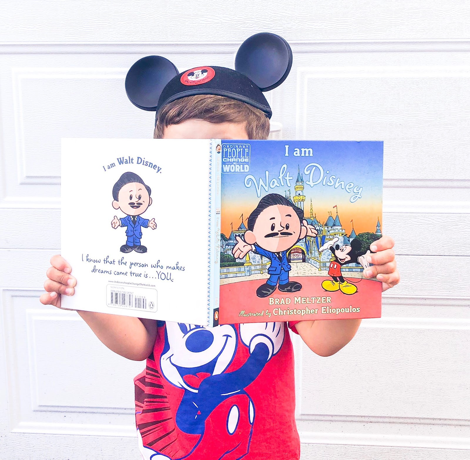 disney book, toddler book, i am walt disney, walt disney, penguin randomhouse, disney world, mickey mouse, disneyland