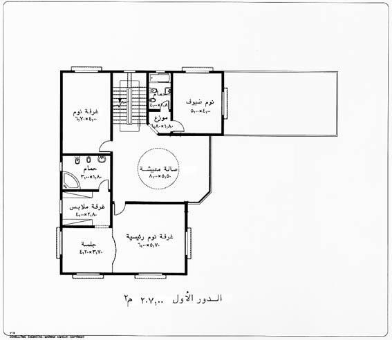 خرائط منازل التصميم التاسع عشر