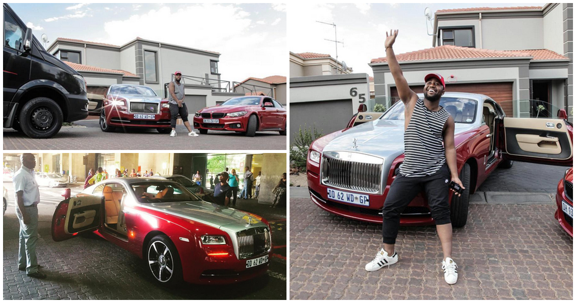 CASSPER NYOVEST BUYS A BENTLEY, ADDS IT TO CAR COLLECTION ...