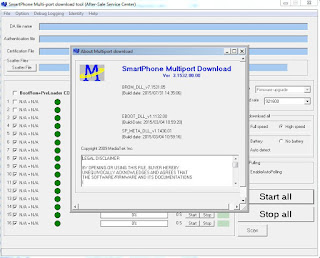 Multi Port Download Tool MTK Smart Phones Flashing Software