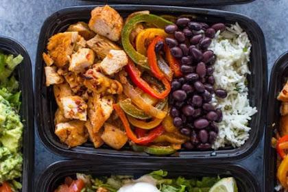 Recipe: Meal-Prep Chicken Burrito Bowls