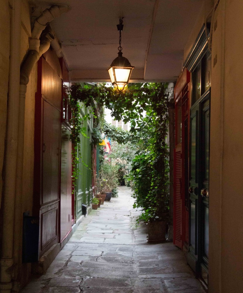 France: Passage De L'Ancre- A Hidden Ancient Passageway In