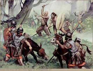 Batalla Bosque de Teutoburgo