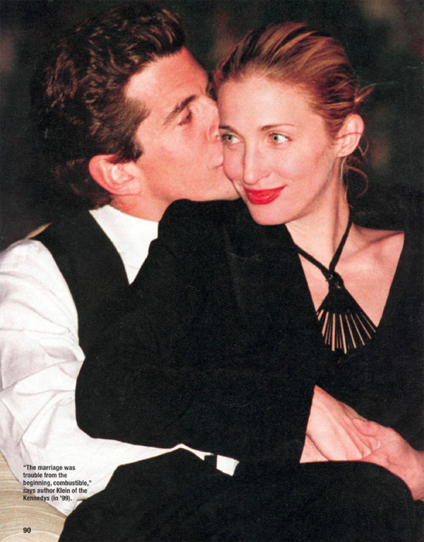 {great love stories № 08 | john f. kennedy jr. & carolyn bessette}