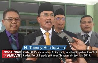 Kadis PMD, H. Thendi Hendrayana