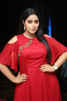 Poorna in Maroon Dress at Rakshasi movie Press meet Cute Pics ~  Exclusive 38.JPG
