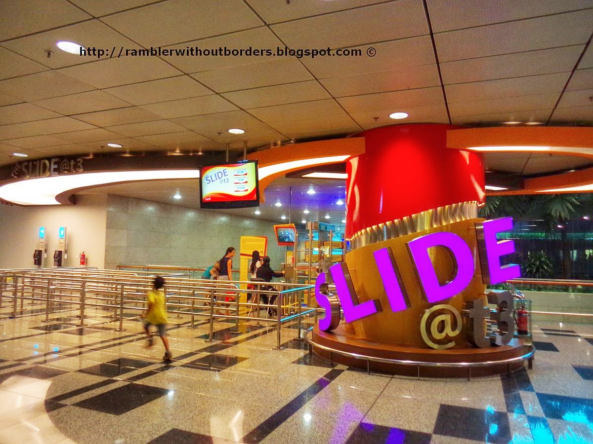 The Slide @ T3, Singapore Changi Airport
