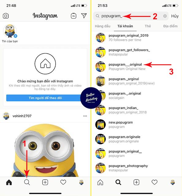 6 Bước chạy auto follow Instagram free không cần phần mềm