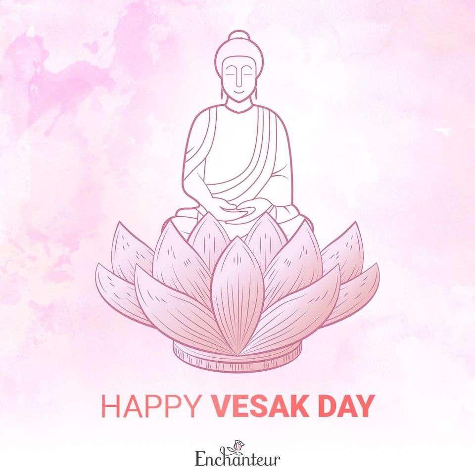 Vesak Wishes Beautiful Image