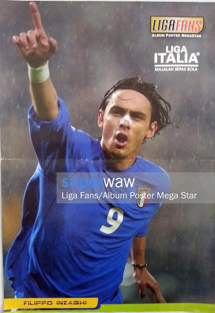 Poster Filippo Inzaghi (Italia)