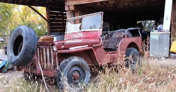 Restoration Project Cars: 1945 Jeep Willys CJ2A Project