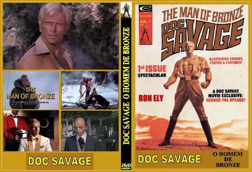 Papo de Cinema: Doc Savage - O Homem de Bronze (1975)