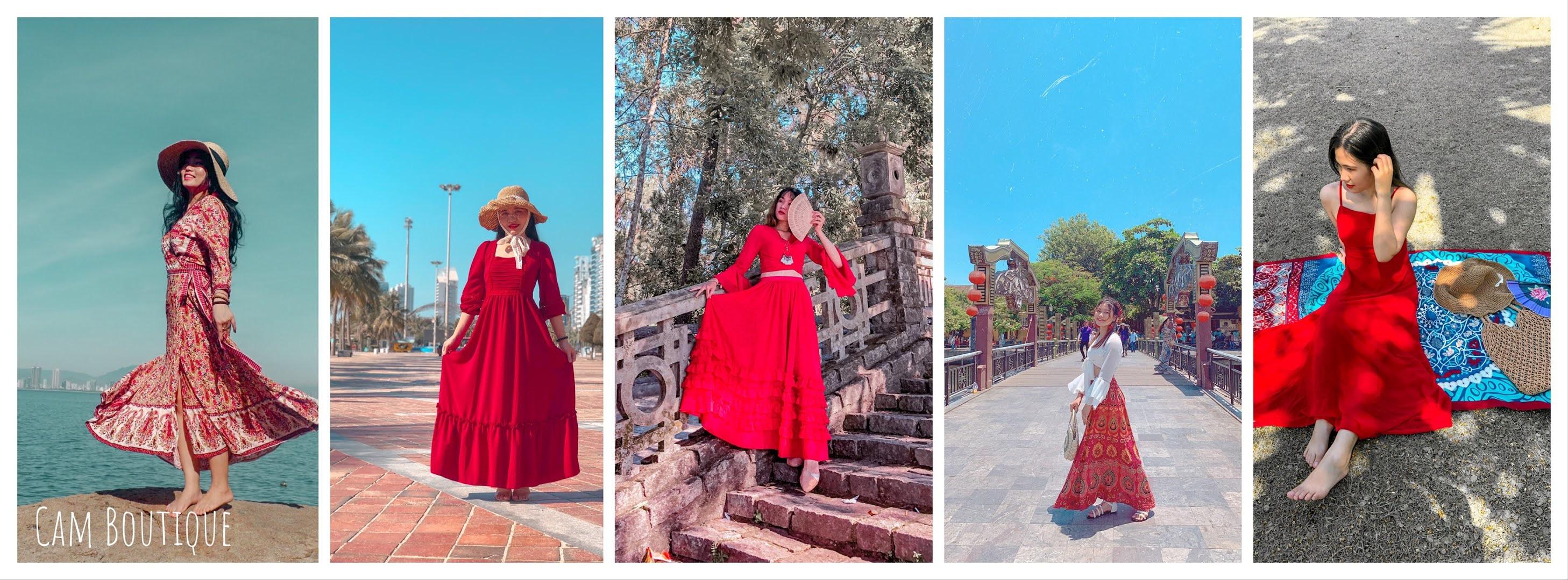 Cam Boutique - Chuyên bán và cho thuê áo dài, đầm váy du lịch, sự kiện Đà Nẵng, Hội An