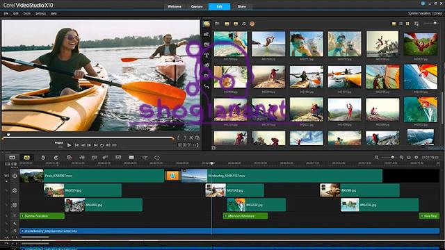 Corel Video Studio Ultimate افضل برنامج مونتاج كمبيوتر