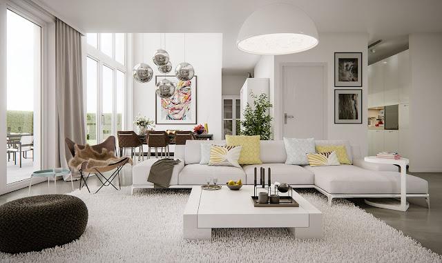 Desain Ruang Tamu Elegant nan indah