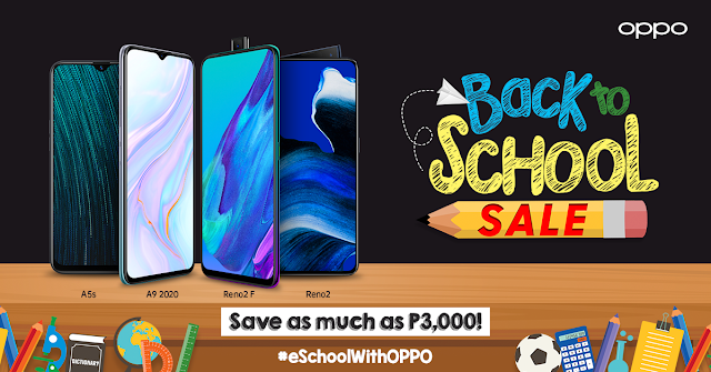 Best Score Ever:  OPPO Offers Special Back To School Promo for e-Learners