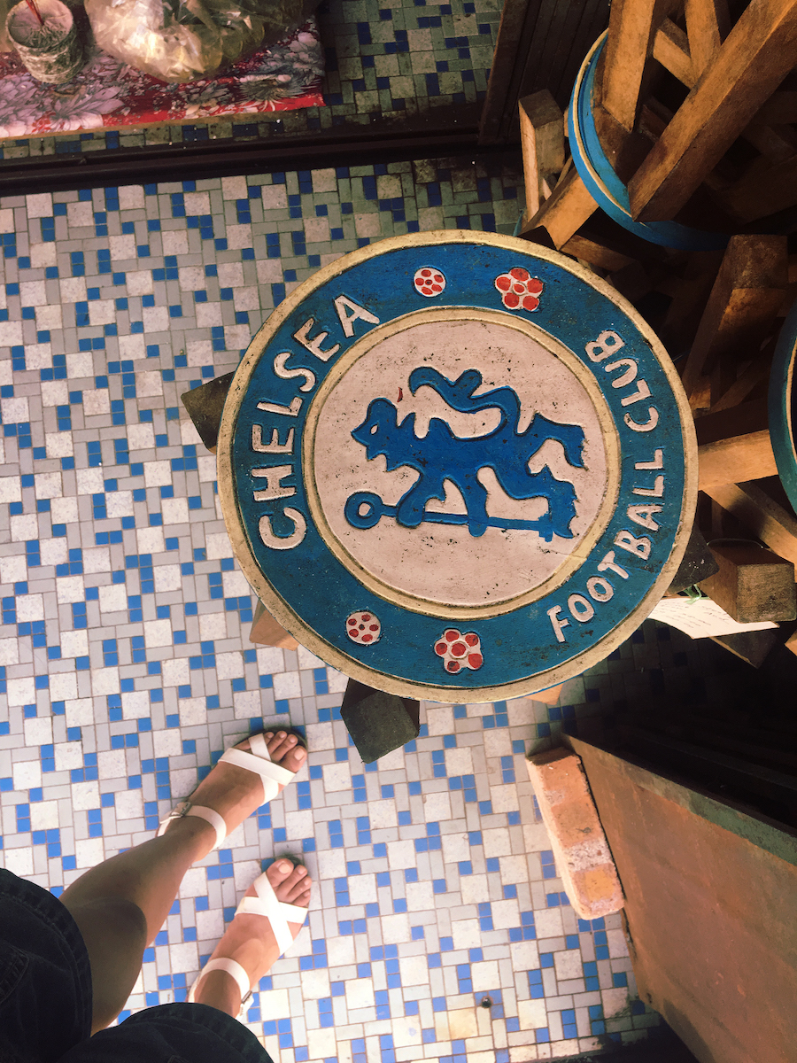 A chelsea stool at an antique store in Malacca Malaysia