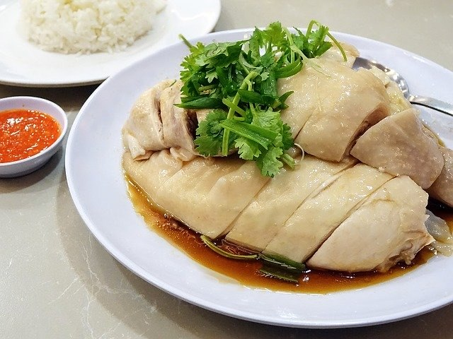 Chicken at Hainanese Delights
