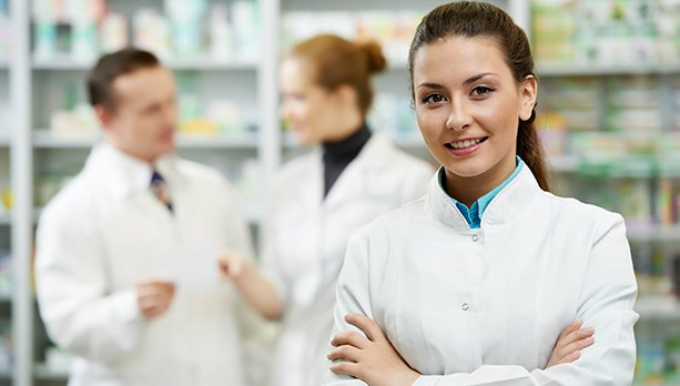 atendente farmacia