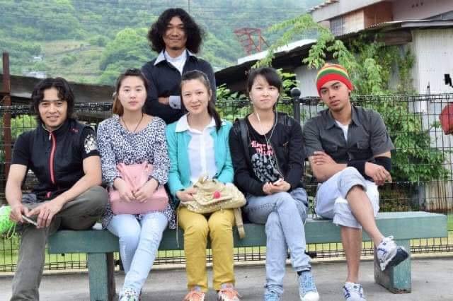 foto bersama dengan pemagang dari negara china