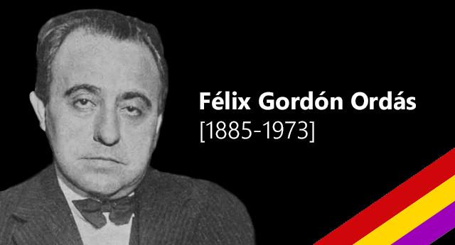 Félix Gordón Ordás [1885-1973]